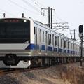 水戸線 E531系3000番台K552編成 752M 普通 小山 行