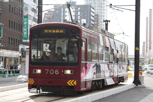 阪堺電気軌道 モ701形706