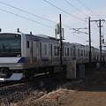 水戸線 E531系K467編成 737M 普通 勝田 行