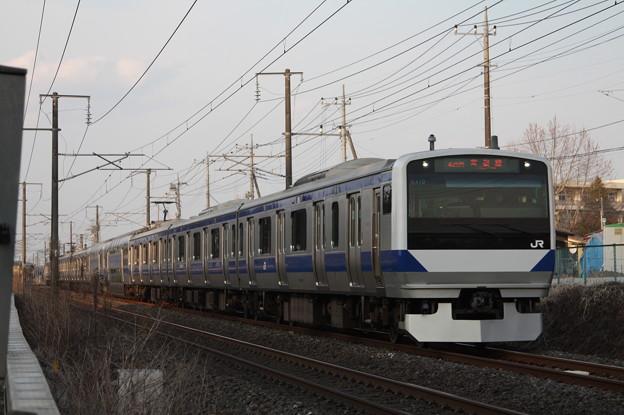 常磐線 E531系K410編成 436M 普通 上野 行