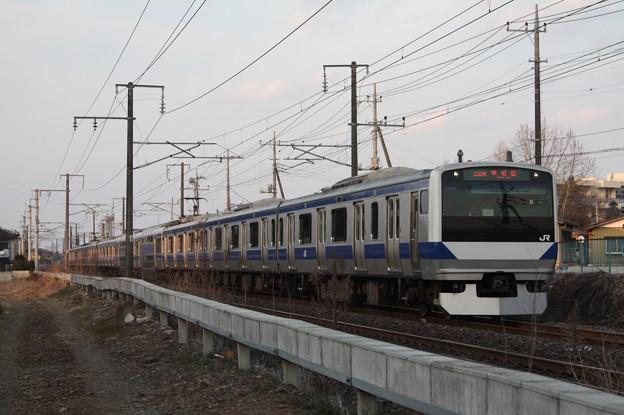 常磐線 E531系K403編成 440M 普通 上野 行