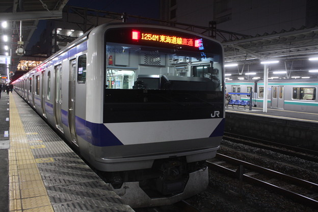 常磐線 E531系K426編成 1254M 普通 品川 行