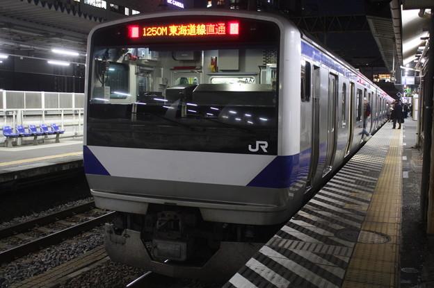 常磐線 E531系K407編成 1250M 普通 品川 行
