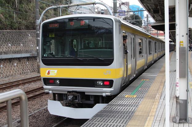 中央・総武緩行線 E231系ミツB2編成