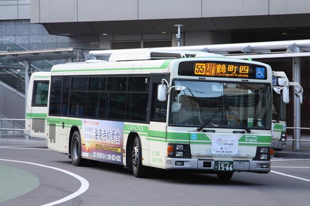 大阪市営バス 21-1566号車 55系統 鶴町西 行