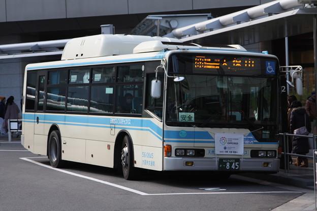 大阪市営バス 56-0845号車 88系統 天保山 行