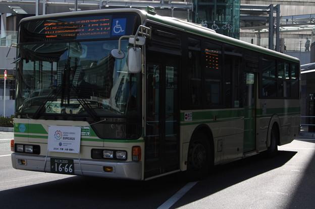 大阪市営バス 62-1666号車