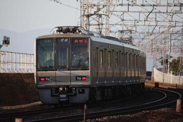 JR神戸線 207系1000番台T2編成