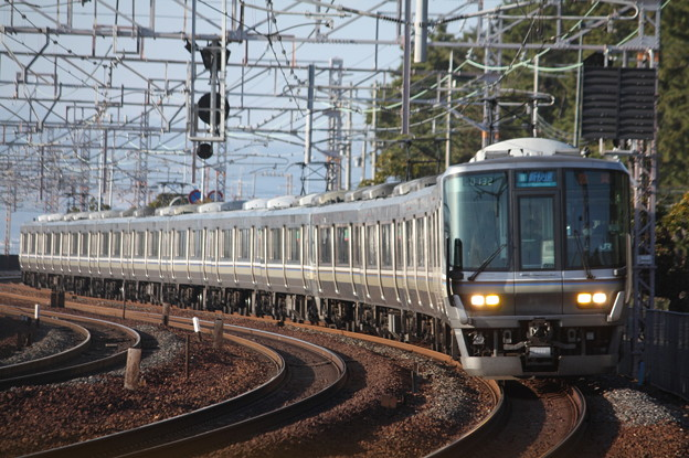 JR神戸線 223系2000番台V35編成 (1)