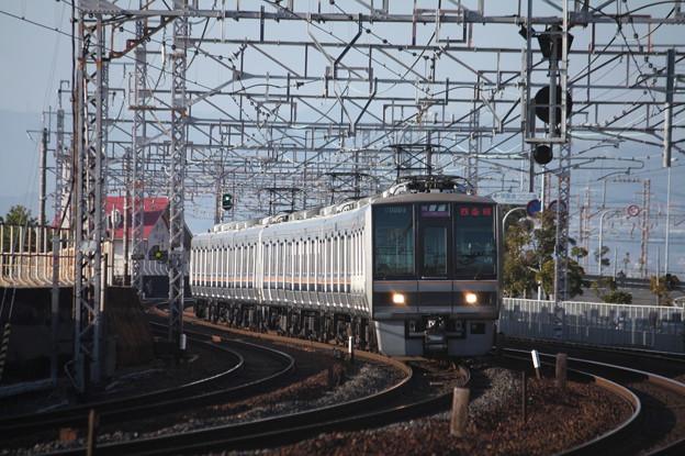 JR神戸線 207系2000番台T23編成
