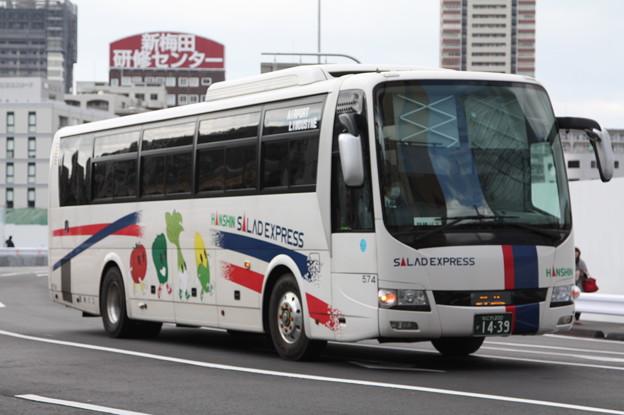 阪神バス 574号車