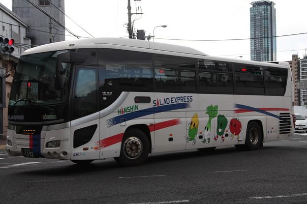 阪神バス 481号車
