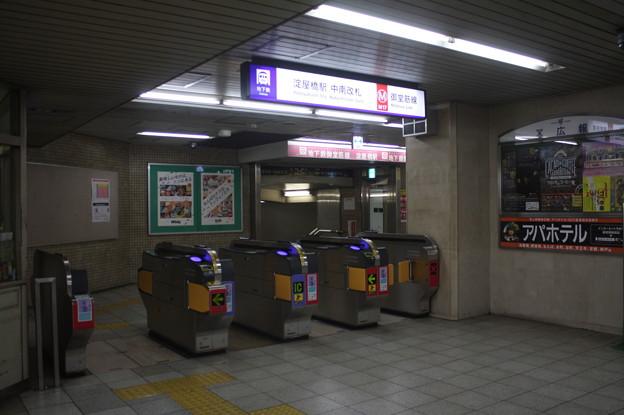 大阪市営地下鉄御堂筋線 淀屋橋駅 改札口