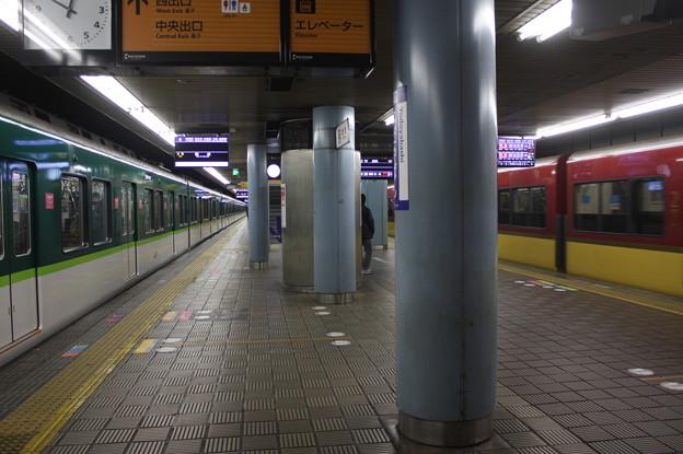 京阪本線 淀屋橋駅 ホーム