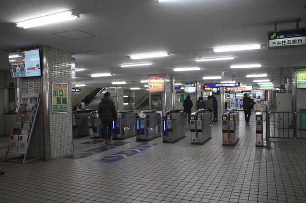 京阪本線 大和田駅 改札口