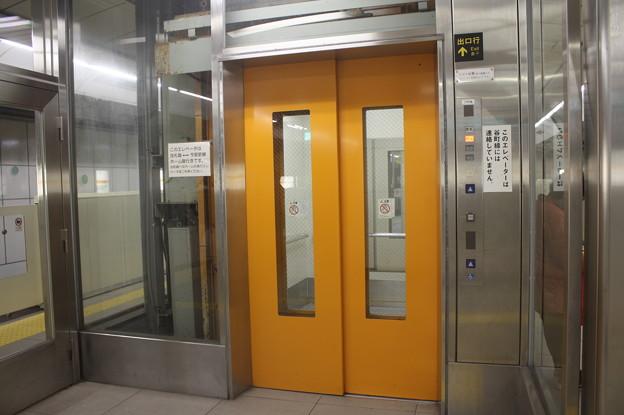 大阪市営地下鉄今里筋線 今里駅 ホーム エレベーター