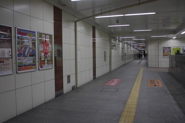 大阪市営地下鉄今里筋線 今里駅 ホーム 通路