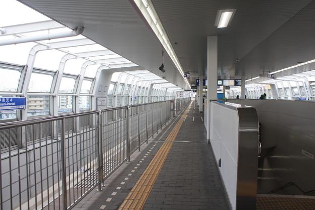 大阪モノレール 南茨木駅 ホーム