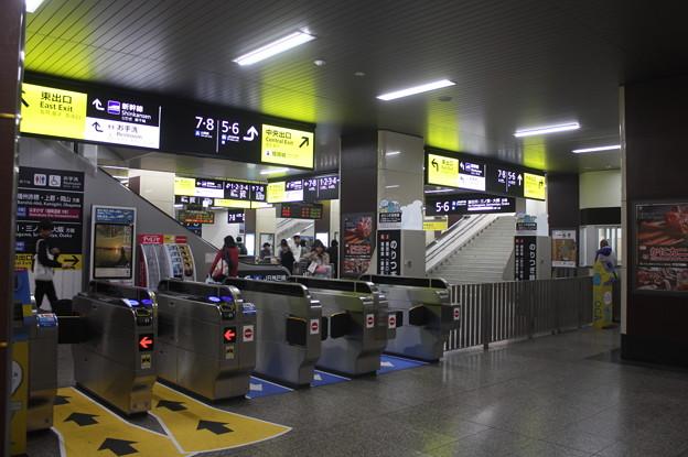 姫路駅 播但線・姫新線乗換改札口