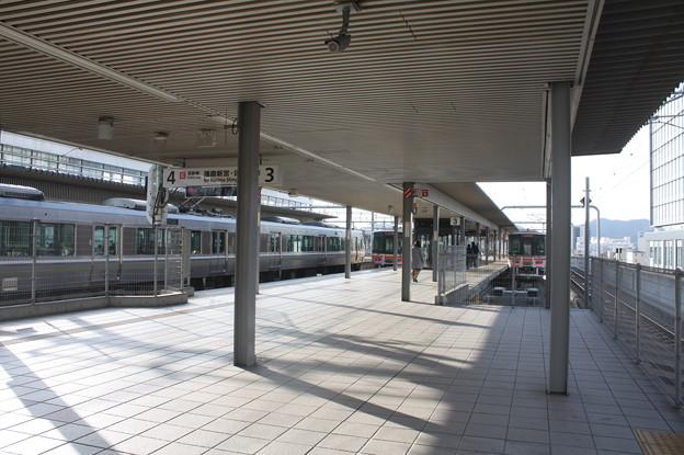 姫路駅 播但線・姫新線 ホーム
