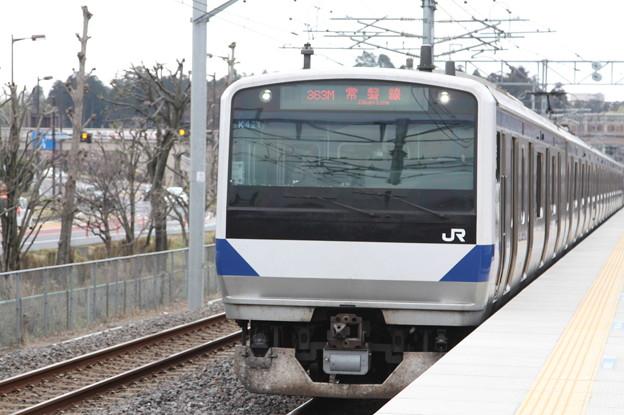 常磐線 E531系K421編成 363M 普通 勝田 行