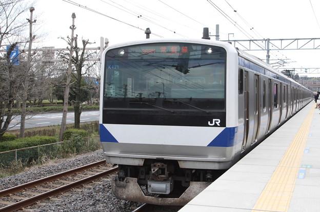 常磐線 E531系K421編成 363M 普通 勝田 行 (1)