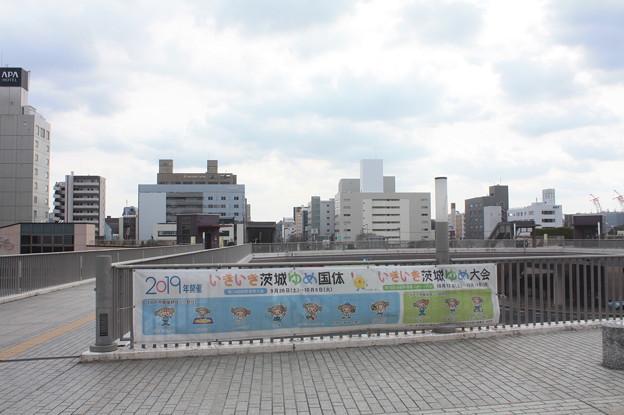 水戸駅南口の風景