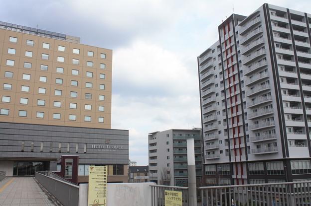 水戸駅南口の風景 (1)