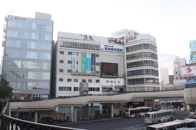 水戸駅北口の風景