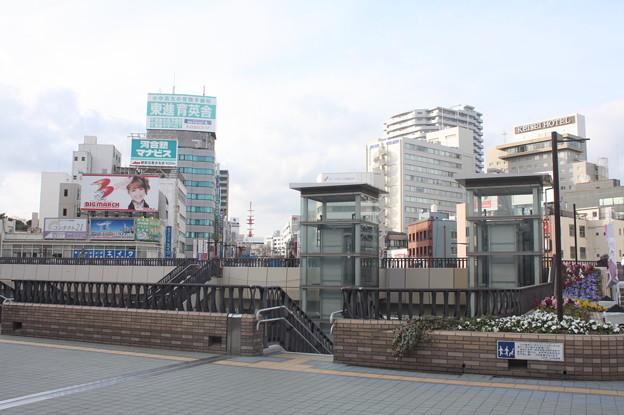 水戸駅北口の風景 (1)