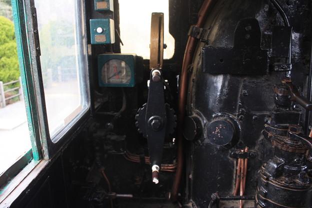 D51 515の運転室 (4)