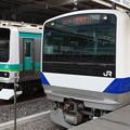 写真: 東海道線 E231系マト130編成・E531系K467編成