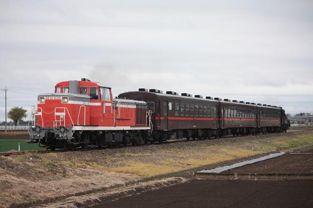 回6100レ DE10 1535+50系客車+C12 66 (14)