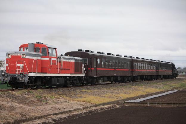 回6100レ DE10 1535+50系客車+C12 66 (15)