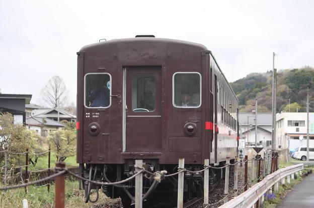 真岡鐵道 SLもおか 6001レ C12 66+50系客車 「本物の出会い栃木」ヘッドマーク付き 天矢場~茂木 後追い