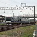 写真: 水戸線 E531系K466編成 755M 普通 友部 行 (1)