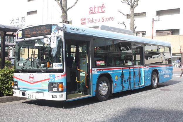 京浜急行バス M2543号車 森22系統 八潮パークタウン循環