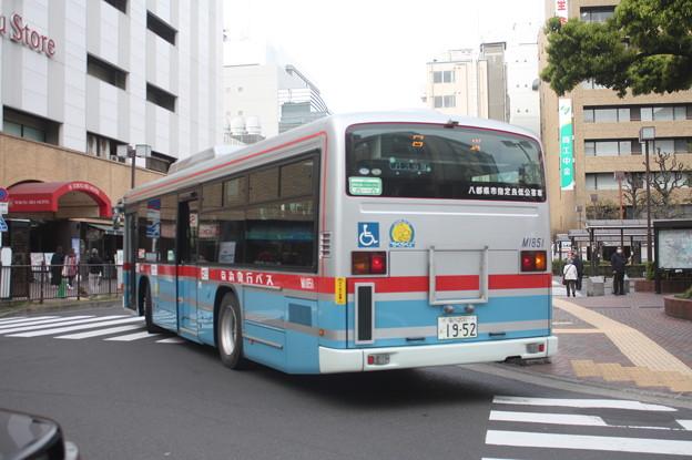 京浜急行バス M1851号車 後部