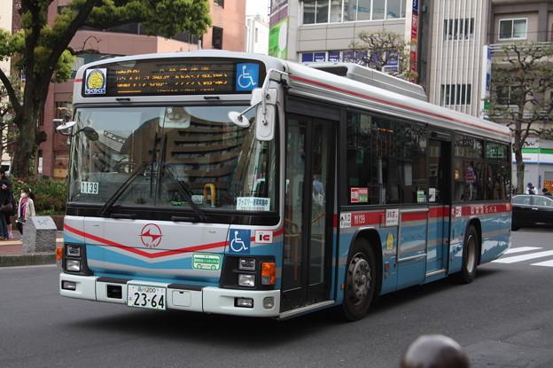 京浜急行バス M1139号車 森22系統