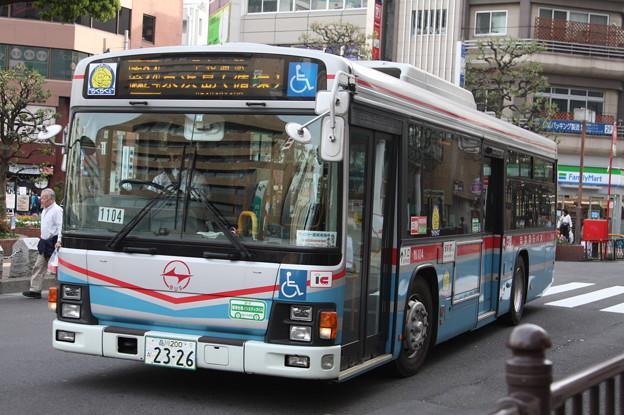 京浜急行バス M1104号車 森24系統 京浜島循環