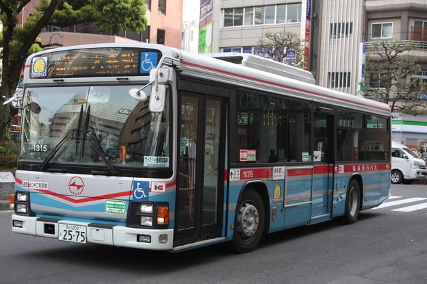 京浜急行バス M1315号車 森22系統