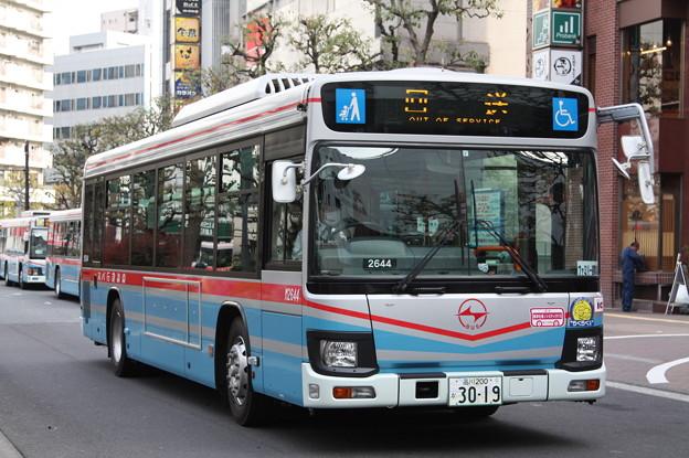 京浜急行バス 新型エルガ M2644号車