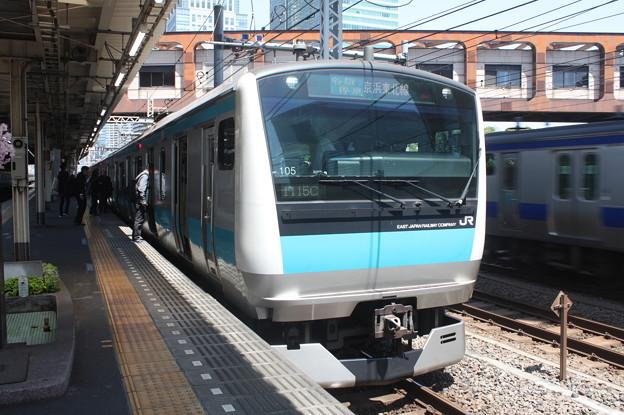 京浜東北線 E233系1000番台サイ105編成