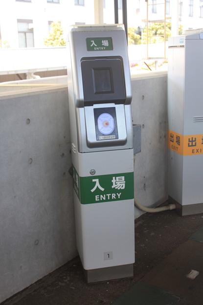鶴見線 海芝浦駅 簡易改札機