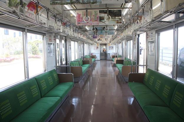 鶴見線 205系 車内