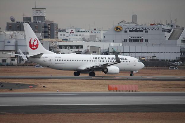 日本航空 JAL B737‐800 JA322J