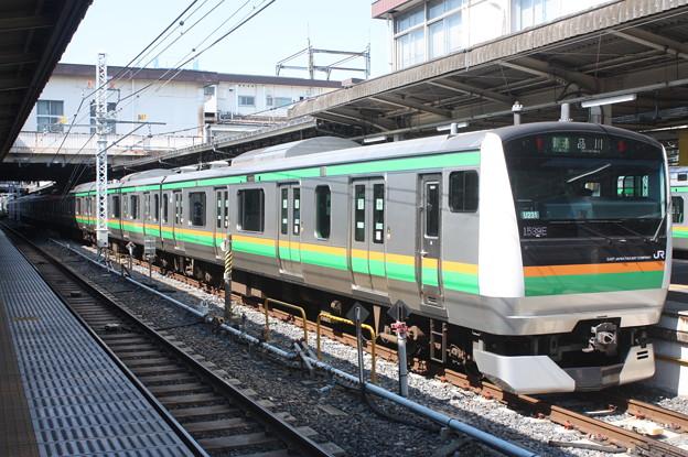 上野東京ライン E233系3000番台U231編成