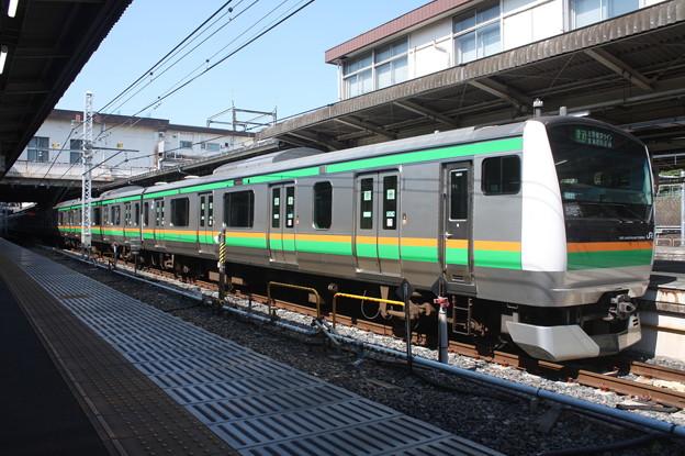 上野東京ライン E233系3000番台U231編成 (2)