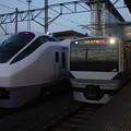 E657系K8編成・E531系3000番台K556編成