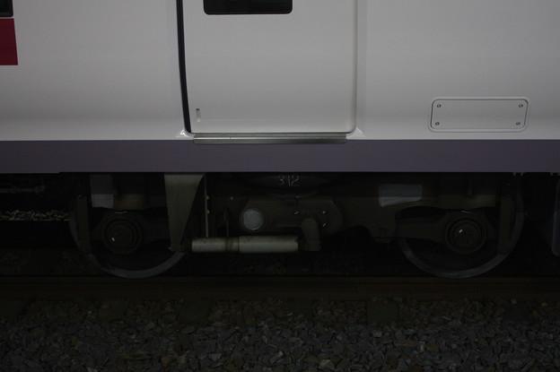 E657系 KY出場後の台車